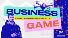 Business Game Digital de l'ordre des géomètres-experts